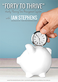 Free Forty to Thrive eBook   Author Ian Stephens